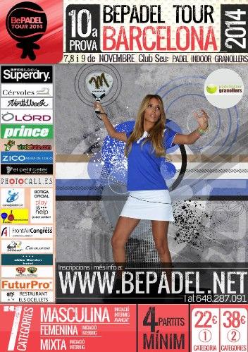 10a prueba bepadel tour barcelona en el Padel indoor Granollers