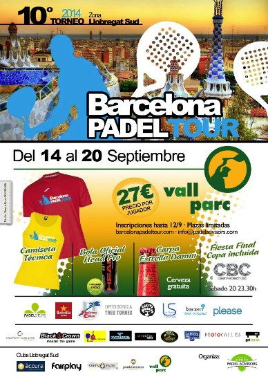 10o Torneo Barcelona Padel Tour Vall Parc