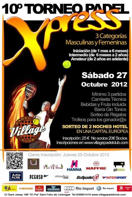 10o Torneo Xpress Village Padel Club