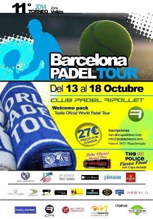 11o Torneo Barcelona Padel Tour Club Padel Ripollet