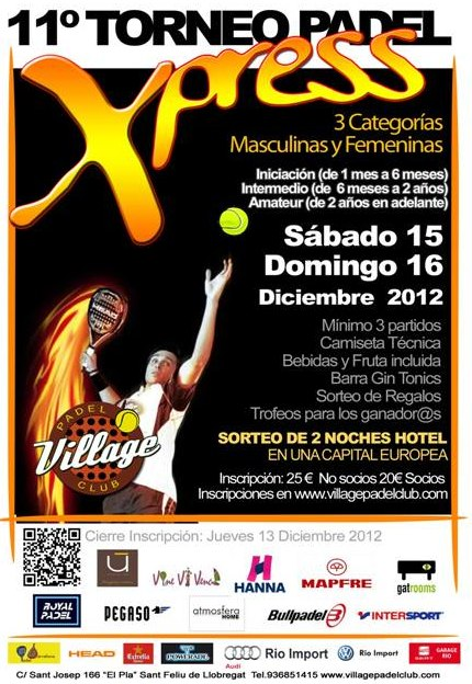 11o Torneo Xpress Village Padel Club