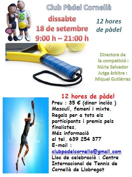 12_horas_de_padel_en_el_Club_de_padel_Cornella