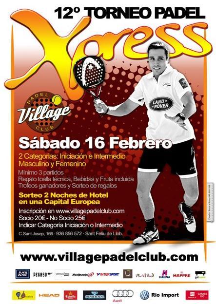 12o Torneo Xpress Village Padel Club