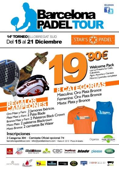 14o Torneo Barcelona Padel Tour en el Star's padel