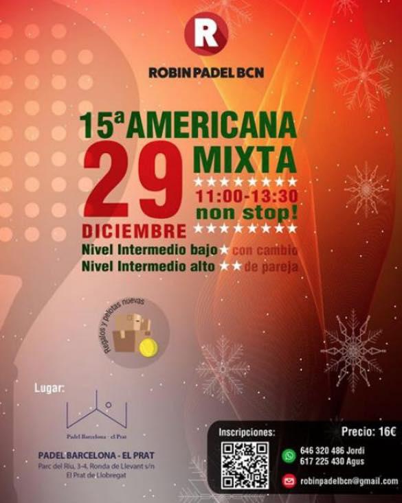 15a AMERICANA MIXTA ROBIN PADEL BCN