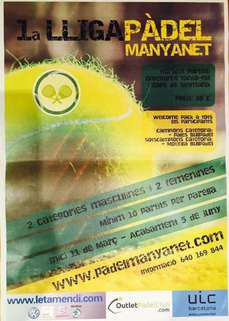 1a Liga de pádel Manyanet