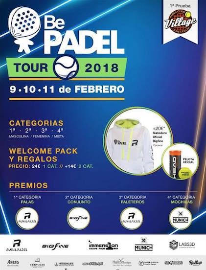 1a prueba Bepadel Tour 2018