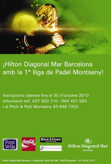 1a Liga de Pádel Montseny