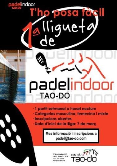 1a liguilla de padelindoor Tao-Do