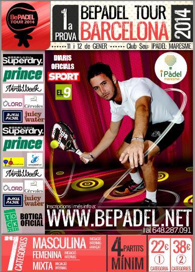 1a prova Bepadel Tour Barcelona