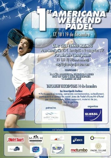1er Americana Weekend Padel