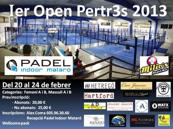 1er Open Pertr3s 2013