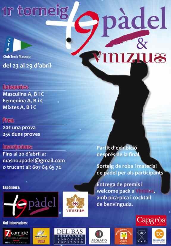 1er Torneo +9padel & Vinicius