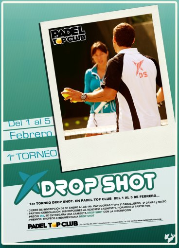 1er Torneo Drop Shot en el Padel Top Club