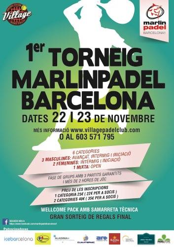 1er Torneo Marlinpadel Barcelona