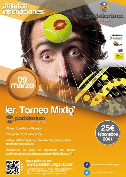 1er Torneo Mixto Padelarium