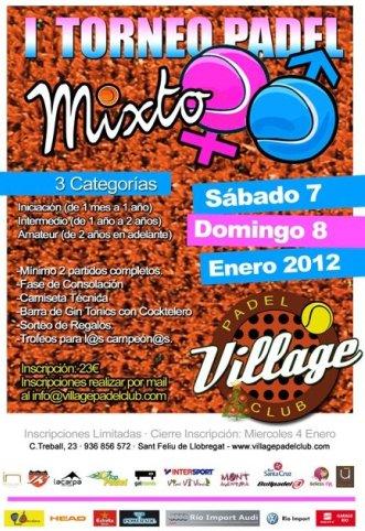 1er Torneo Mixto Village Padel