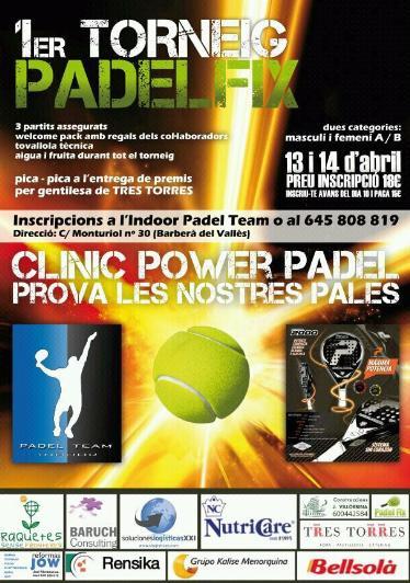 1er Torneo Padel FIX