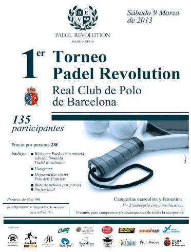 1er Torneo Padel Revolution