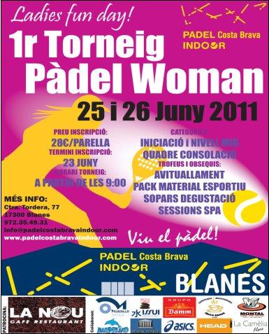 1er Torneo Padel Woman Padel Indoor Costa Brava