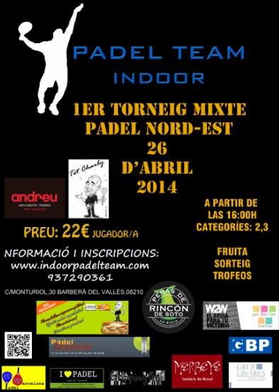 1er Torneo mixto Padel Nord-Est