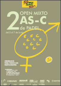 2º Open Mixto de padel AS-C