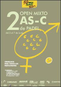2º Open Mixto de padel AS-C