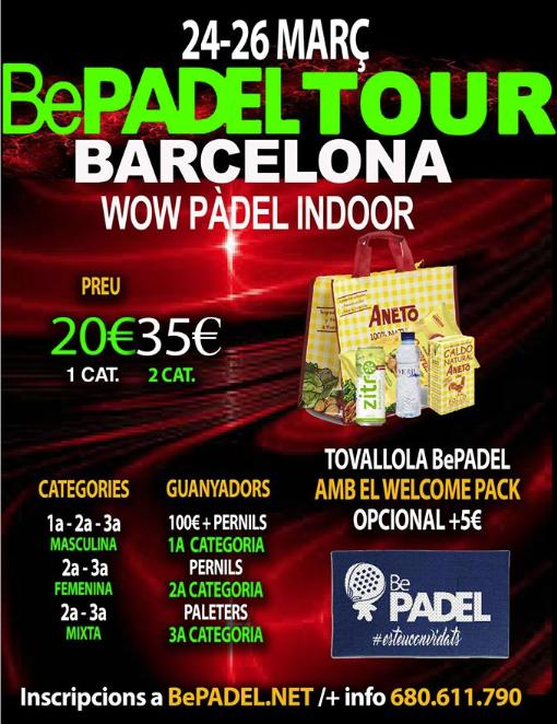 2a Prueba Bepadel Tour 2017 Cornella