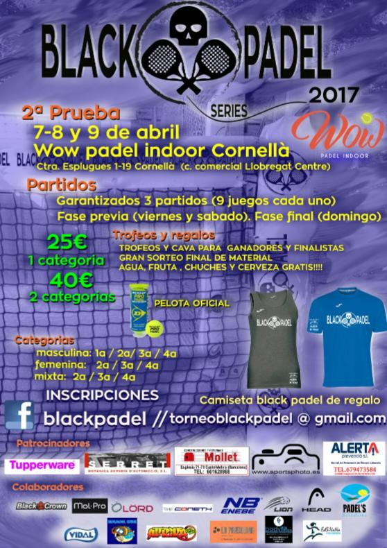 2a Prueba BlackPadel series