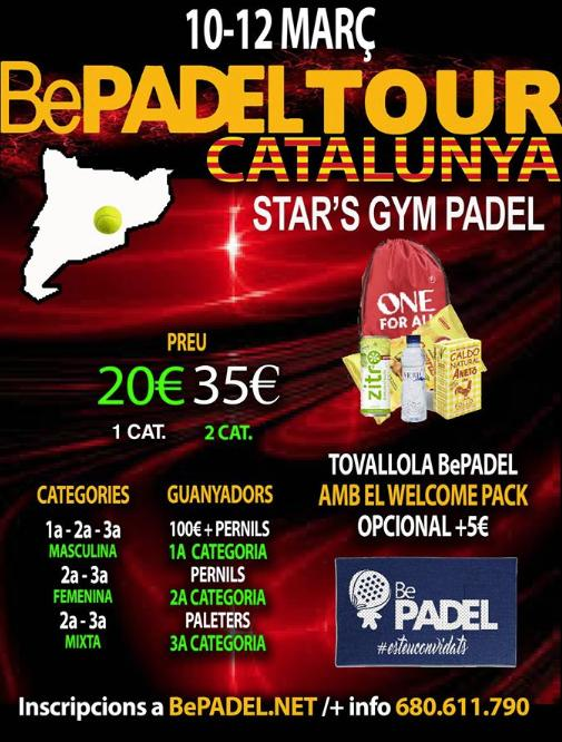 2a prueba BePadel Tour 2017