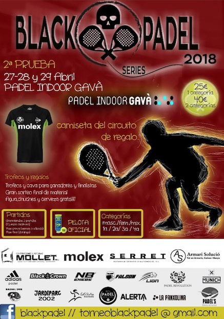 2a prueba blackpadel series Indoor Gava