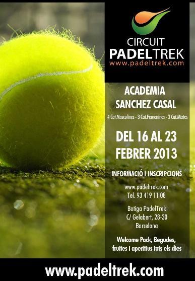 2a Prueba Circuito PADELTREK en la Academia Sanchez Casal