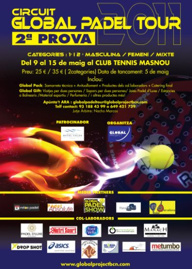 2a prueba del circuito Global Padel Tour