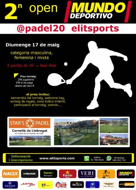 2n open Mundo Deportivo @padel20 elitsports