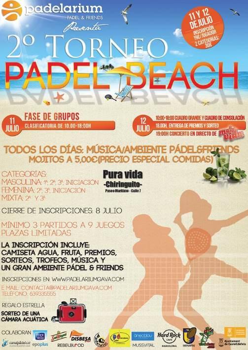 2o Torneo Padel Beach Padelarium Pura vida