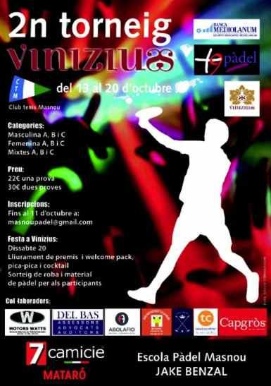 2o Torneo Vinizius en el CT Masnou