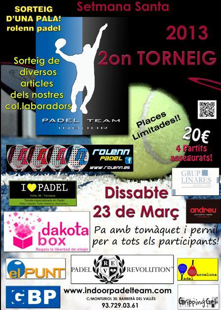 2o Torneo de padel Team Indoor