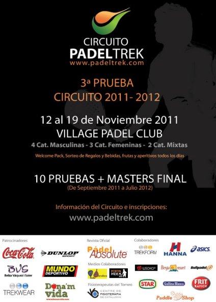 3 Prueba Circuito PadelTrek 2011-2012 en el Village Padel Club