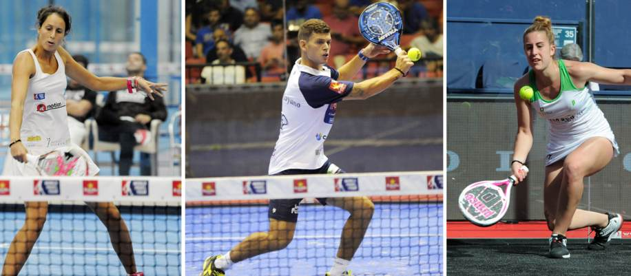 3 debutantes del Master World Padel Tour