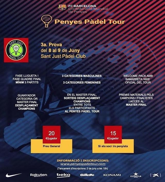 3a PROVA CIRCUIT PENYES PADEL TOUR