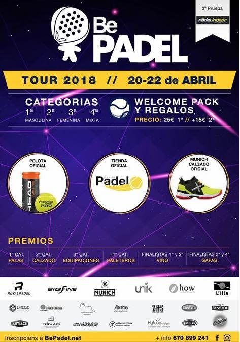3a Prueba Bepadel tour BCN 2018