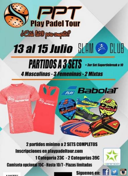 3a Prueba Play Padel Tour