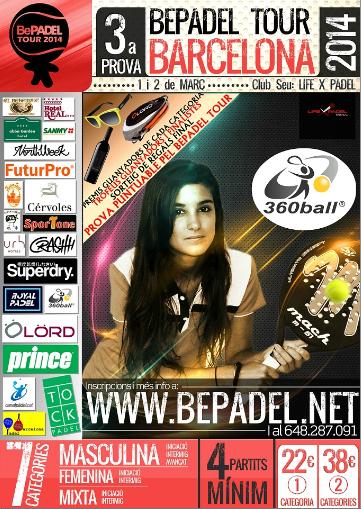 3a prueba Bepadel Tour Barcelona