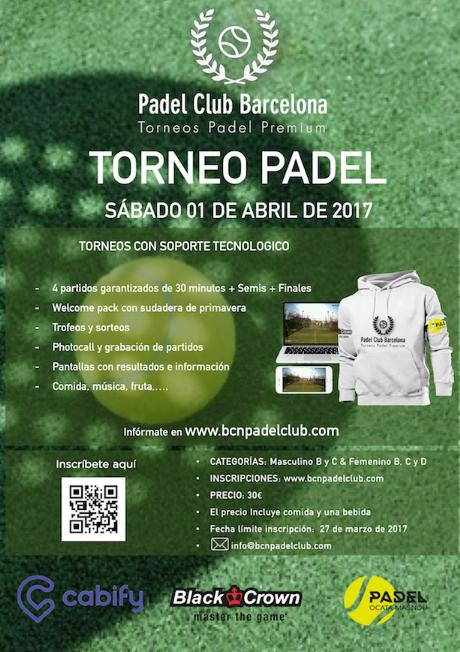3er torneo Barcelona Padel Club - Club Padel Ocata
