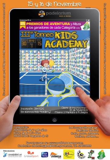 3er Torneo Kids Academy en el Padelarium