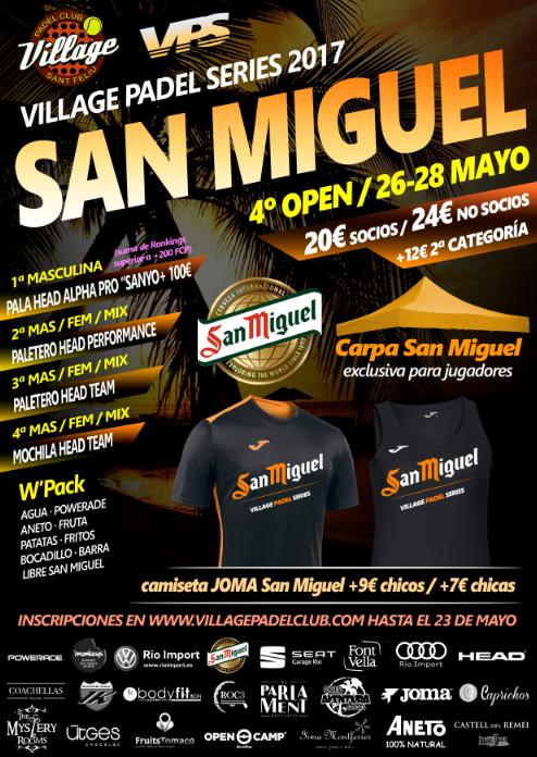 4o OPEN SAN MIGUEL VPS 2017