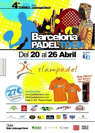 4o Torneo Barcelona Padel Tour Slam Padel