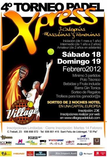 4o Torneo Xpress Village Padel Club