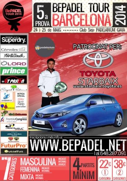 5a prueba Bepadel Tour Barcelona