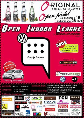 5a prueba de la Garaje Open Indoor League de padel
